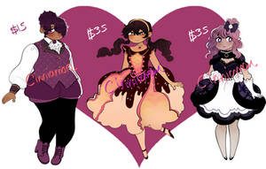 Valentines Adopts 02! (1/3 OPEN) by Caz-Nia1994