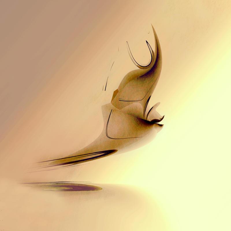 Flight through the fractal by 011Art