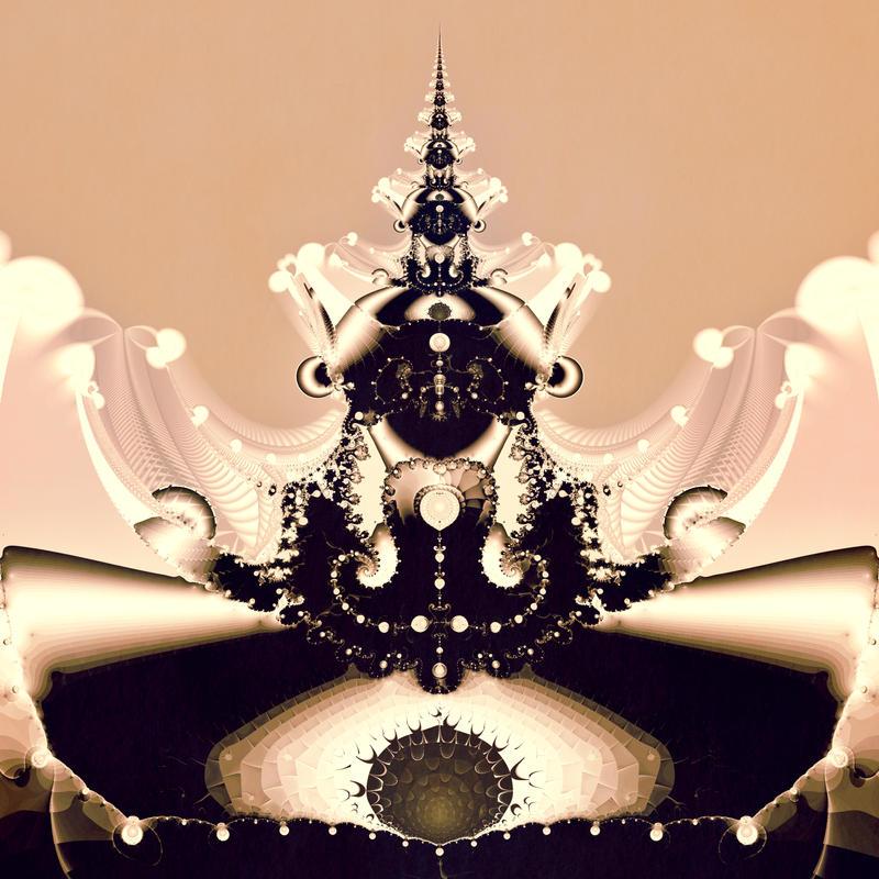 Fractal Views Of A Secret by 011Art