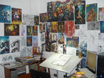 my studio by Adrianohq