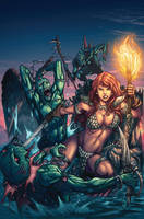 Red Sonja Cover 46 by Adrianohq
