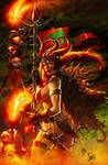 Red Sonja cover collor