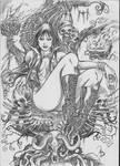 Vampirella sketchs sample