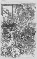 Red Sonja pg 22 annual 3 by Adrianohq