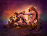 Red Sonja cover preview
