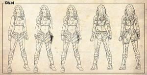 Talia Character designer