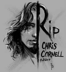 RIP Chris Cornell by Adrianohq