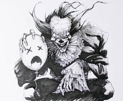 Pennywise inktober2017