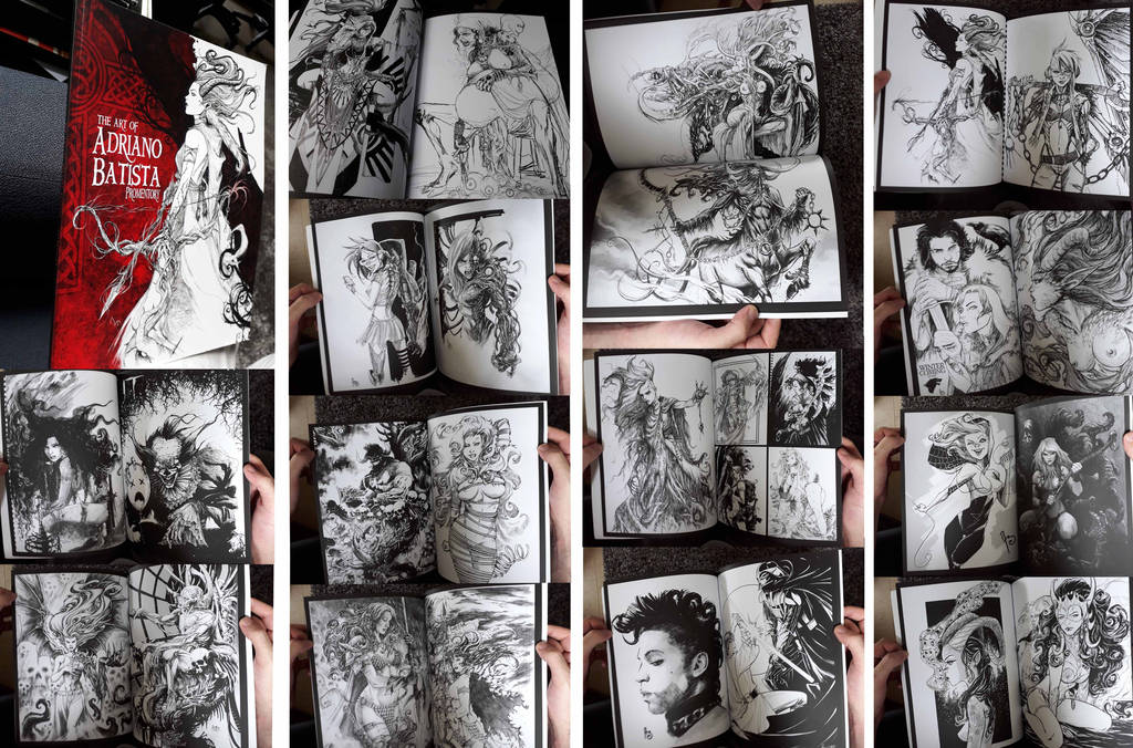 ARTBOOK for sale!!! by Adrianohq