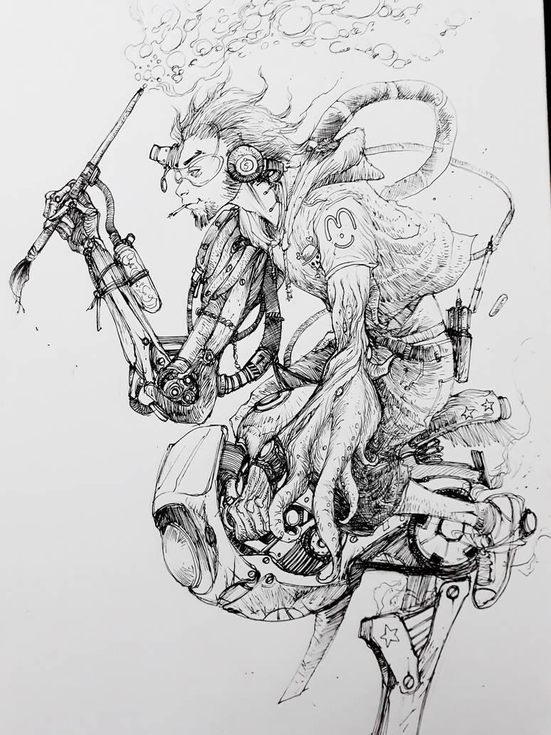 Dia do desenhista by Adrianohq