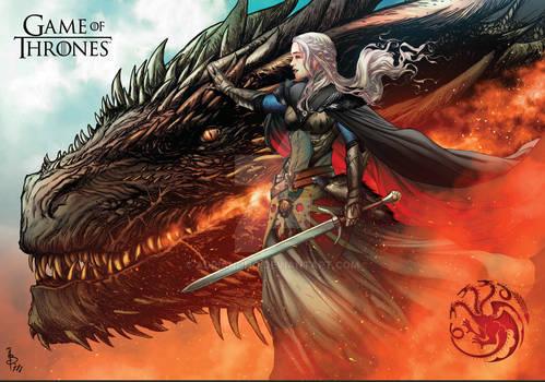 Daenerys Targaryen The Queen GOT