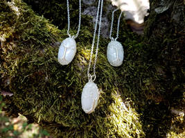 White Tree of Gondor necklaces by jessy25522