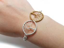 Trees of Valinor bracelet by jessy25522