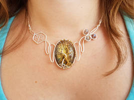 Silmarillion inspired necklace by jessy25522