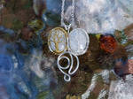 Trees of Valinor necklace by jessy25522