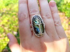Labradorite ring by jessy25522