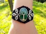 Malachite bracelet by jessy25522