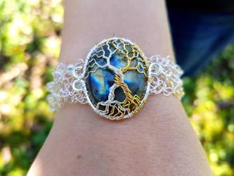 Tolkien inspired bracelet by jessy25522