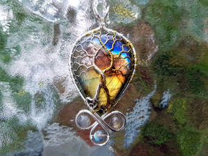 The Two Trees pendant.