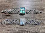 Wire crochet bracelets. by jessy25522