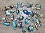 Labradorite pendants. by jessy25522