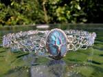 Labradorite necklace. by jessy25522
