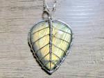 Leaf pendant.