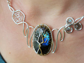 Two Trees necklace.