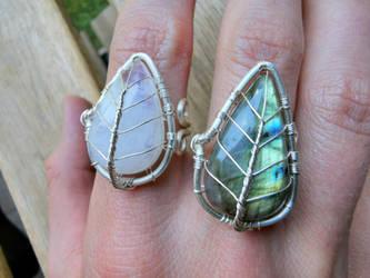 Leaf rings.