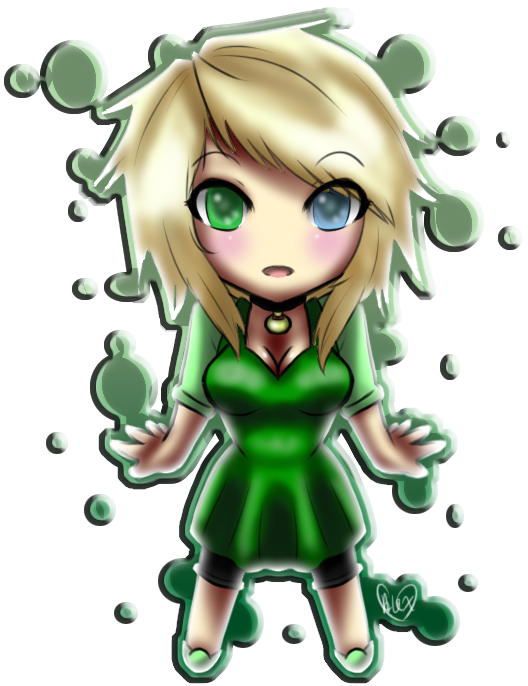 Alex As A Chibi by Parastatic