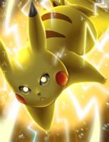 Volt Tackle Pikachu
