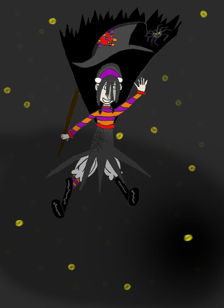 Toph As A Witch! by BlackEyeHawk
