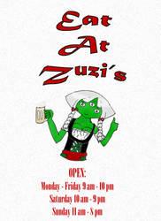 Eat At Zuzi's! by BlackEyeHawk