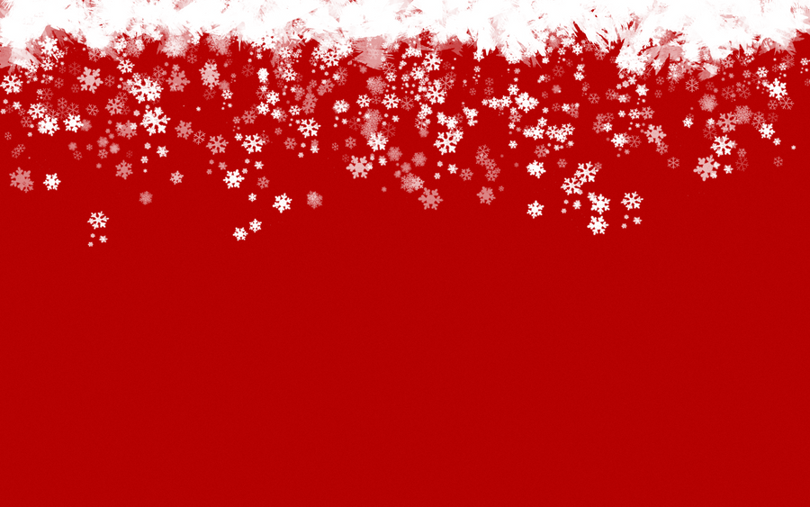 Red and White Ball Ornament with Snowflake and Line
