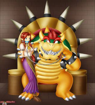 Caught in Koopa's Clutches by 2GoodSharks
