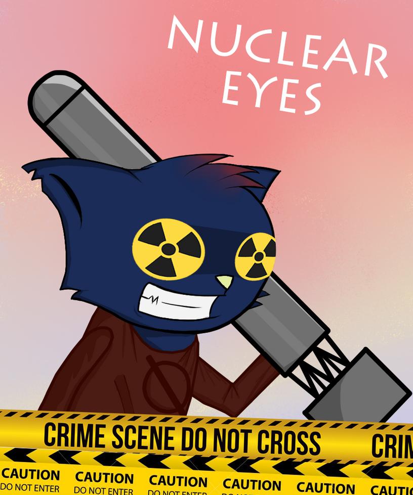 Nuclear eyes by MetallBunker