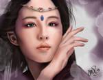 Liu Yi Fei Digital Portrait