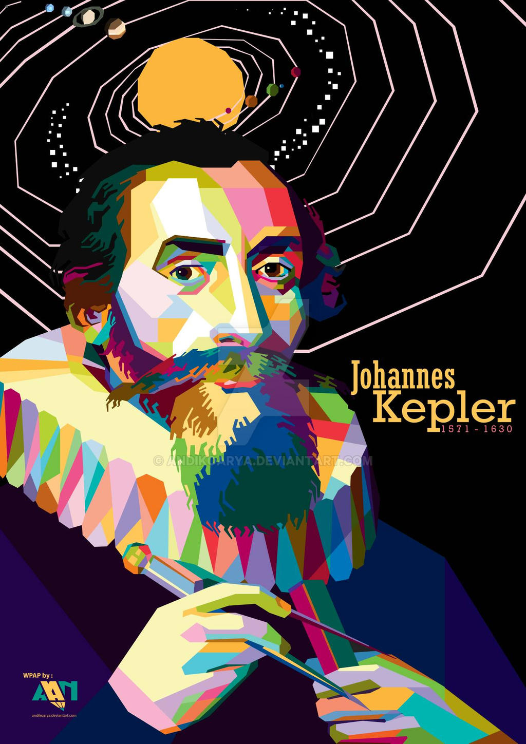 Johannes Kepler on WPAP