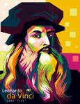 WPAP of Leonardo da Vinci