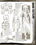 Naruto: Keitaro Design Sheet