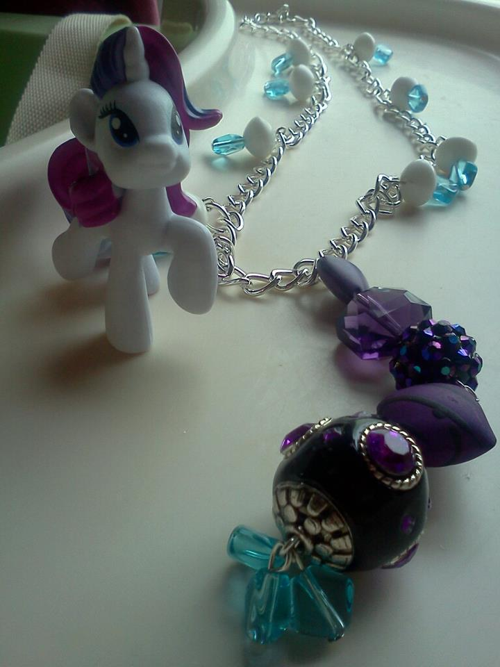 Rarity Inspired Necklace by CorterMoon