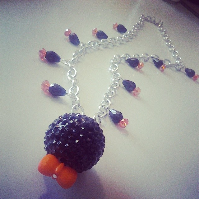 Orange Is The New Black Inspired Necklace by CorterMoon