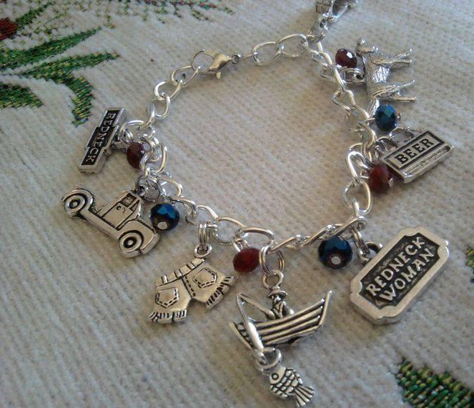Redneck-Inspired Custom Bracelet by CorterMoon