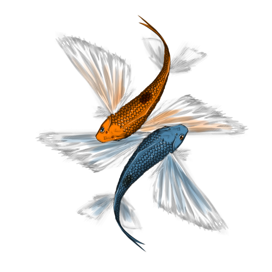 Flying fish by serbus on deviantart for Flying fish drawing
