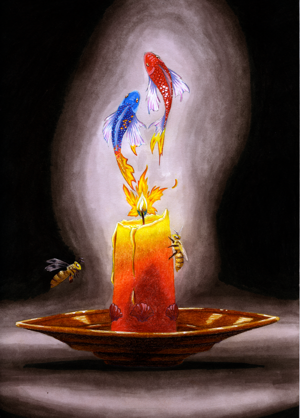 Our Flame by serbus