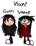 Goth and vamp kuki