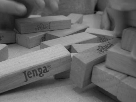 Jenga Game by 3DVISION