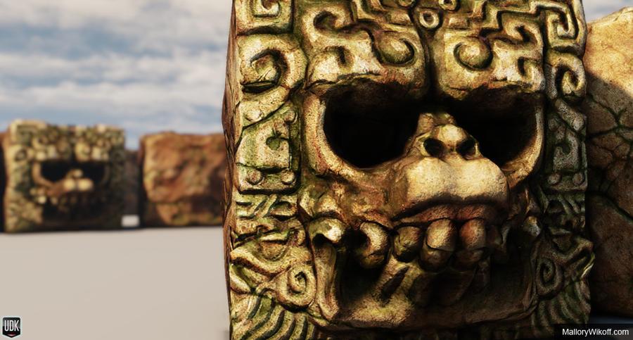 Mayan Death God by Men...