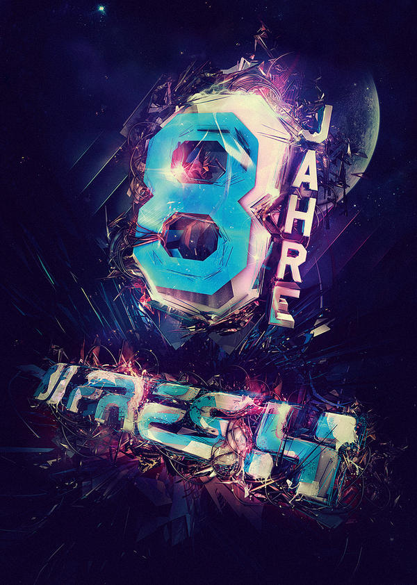 8 years freshguide artwork wip by mellowpt