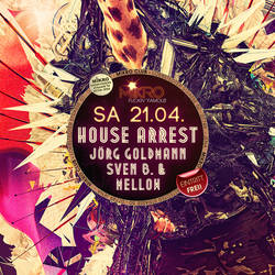 House Arrest Flyer by mellowpt